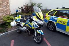 Nice! (Mike-Lee) Tags: police policebike bmw new car policevehicles oct2017 motorcycle motorbike