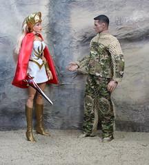 She-Ra Princess of Power 12 inch figure - Mattel (Weapon_X_Wolverine) Tags: shera heman princessofpower adora doll fashiondoll sword cartoon 80scartoons muscularwoman strongwoman powerfulwoman princess toyphotography toyreview soldier 12inchfigure