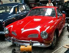 VW Karmann Ghia (Vriendelijkheid kost geen geld) Tags: automuseum schagen