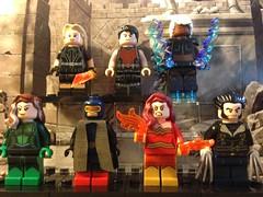 LEGO X-Men (David$19) Tags: lego legomarvel legoxmen xmen rouge cyclops darkphoenix wolverine magik colossus storm