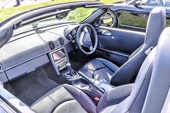 Porsche Boxster S cockpit (John Tif) Tags: 2017 crystalpalace car motorspot