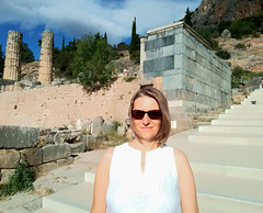 Delphi (ika_pol) Tags: unesco unescogreece worldheritage greece delphi antiquity ancient ancientgreece ancientruins geotagged parnassusmountains me