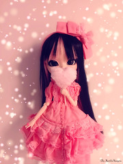 Helena ♥ (♥ MarildaHungria ♥) Tags: helena pullip fanatica regenerationseries groove doll obitsued rewigged pink dress
