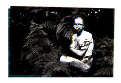 (Karsten Fatur) Tags: portrait model malemodel bw blackandwhite gay lgbt lgbtq queer queerart gayart forest woods ferns nature landscape canterbury kent uk unitedkingdom britain england europe travel adventure explore edit photoshop rgb triad layers multipleexposure doubleexposure art imageart gumbichromate