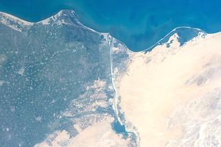 Port Said in Egypt