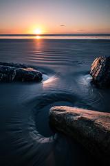 Sunrise in Bull Island - Dublin, Ireland - Seascape photography