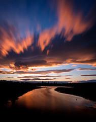 Starting Out (ajecaldwell11) Tags: xe3 sunset ankh water fujifilm light longexposure tide newzealand napier nisi sky clouds hawkesbay upwards caldwell dusk