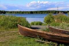 Kukkolaforsen (Elisabeth Aurora V.) Tags: sweden sverige river kukkola blue