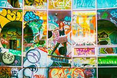 Charli Blake (Thomas Hawk) Tags: america bayarea california charli charliblake cossonhall logo sf sagehall sanfrancisco treasureisland usa unitedstates unitedstatesofamerica westcoast abandoned graffiti fav10 fav25 fav50