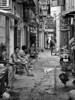 Rooster Man (simon_pannell) Tags: southvietnam saigon blackandwhite asia street southeastasia nikdefine seasia vietnam colour streetscapes monochrome travel hcmc niksilverfx streetlife hochiminhcity
