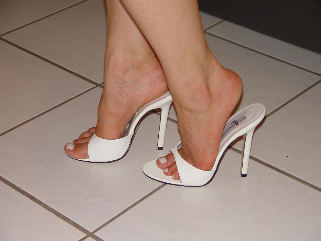 sexy High Heels Füße