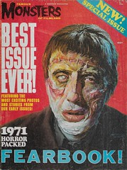 Famous Monsters Fearbook 1971 (Donald Deveau) Tags: famousmonsters fm 1971 magazine warren christopherlee frankenstein