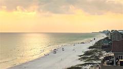 the beach at dusk (abnoon) Tags: dusk gulfofmexico beach destin hipstamatic florence aristotle