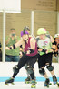 053 (Bawdy Czech) Tags: lava city roller dolls cinder kittens cherry blossoms derby skate october 2017 bend oregon wreckless