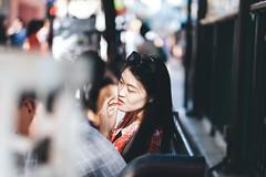 Street Portraits (Kym Ellis) Tags: woman pretty portrait streetphotography asian hongkong lady xpro2 fujifilm travel wanderer explore goexplore travelphotography city peopleoftheworld
