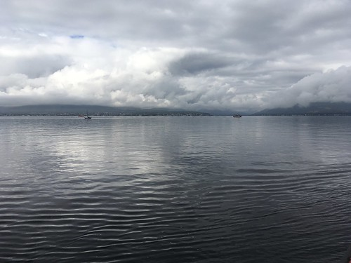 Dunoon under clouds