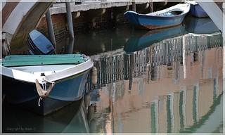 Venezianische Spiegelungen * Venetian reflections * Reflejos venecianos *   .  DSC_1479-001