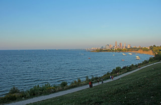Cleveland and Lake Erie