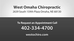 Welcome to West Omaha Chiropractic (West Omaha Chiropractic) Tags: chiropractic chiropractor adjustment spine back hurt pain auto massage physical therapy acupuncture orthotics nutrition doctor sports injury holistic counseling