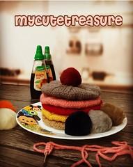 Keep calm and eat pancakes ..❤️😍