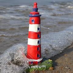 Souvenir - HMM (captain_joe) Tags: leuchtturm lighthouse amrum wasser water strand beach sand hasselfelde kiel macromondays souvenir