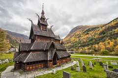 Borgund Stave Church with a Little HDR (slackbits) Tags: norway hdr borgund scandinavia2017 borgundstavechurch sognogfjordane no