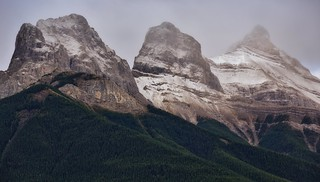 An Early Morning View to The Three Sisters