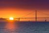 Smoky Sunset Over the Gate (pixelmama) Tags: pixelmama california treasureisland sanfrancisco sunset thatsfbridge bridge goldengatebridge smoke sailboat fortpoint