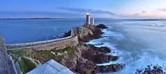 Phare petit-minou (lp_alain) Tags: brest bretagne wild plouzané phare lepetitminou longexposure landscape lighthouse nikon ngc nature samyang8mm sunset fisheye finistère