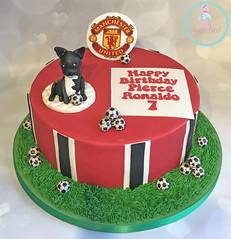 Manchester United Bulldog Cake
