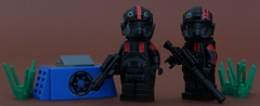 Special Forces. (Jan, The Creator) Tags: lego inferno squad starwars star wars brickarms e11 t21 custom purist