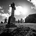 Clonmacnoise monastery - Ireland - Black and white street photography