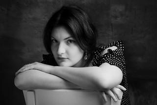 Portrait Emeline n&b 2