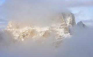 Italy, ephemeral mountain