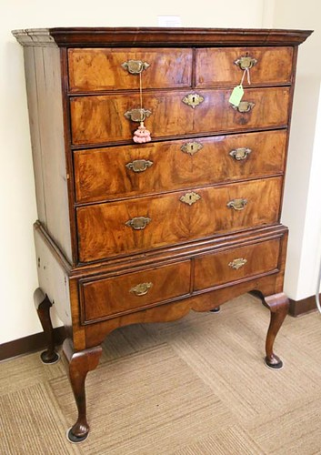 Early English Chest on Chest Highboy ($616.00)