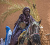 Touareg ride - at the Sultant's palace (Hannes Rada) Tags: niger touareg rider agadez