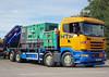 TV018137-Manchester. (day 192) Tags: manchester manchestercityfootballclub mcfc etihadstadium greatnorthwesttruckshow truckshow transportshow transportrally truck lorries lorry wagon htftransport htf scania r350 scaniar350 mx17ztb