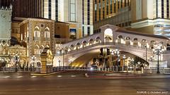 Las Vegas, NV: Venetian Hotel replica of Rialto pedestrian bridge (nabobswims) Tags: bridge hdr highdynamicrange lasvegas lightroom nv nabob nabobswims nevada night photomatix sel18105g sonya6000 us unitedstates venetianhotelcasino lasvegasstrip nightfoto
