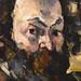 CEZANNE,1875 - Portrait de l'Artiste (Orsay) - Detail 13
