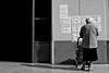 OneDayOrAnother (lauttone1) Tags: salerno sa italia italy campania life death vita morte church third age canon eos 1d mark iii streetphotography bnw bianco nero bn black white vecchia anziana