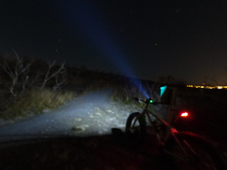 Late october and nightbike time