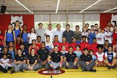 Skaf visita Sesi Cubatão no Sábado no Sesi