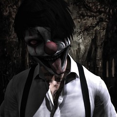 Toxic-Calling all the Monsters (Connor ※ Valentine) Tags: clown halloween shadows creepy photoshop photography edit secondlife