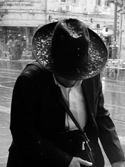 Downpour (gergelytakacs) Tags: man jew jewish orthodox hat rain storm water downpour head drop wet israel middleeast holyland jerusalem oldtown יְרוּשָׁלַיִם القُدس streetphotography urbanphotography streetphoto urbanphoto unposed streetscape urban city photo streetphotographer streetphotos fotografíacalle fotografíacallejera calle photosderue photographiederue fotografiauliczna pouličnáfotografia fotografiadistrada pouličnífotografie utcafotó strasenfotografie уличнаяфотография צילוםרחוב stranger documentary people streets documenting publicspace candid blackandwhite bwmonochrome blackwhite blancoynegro blanco negro noiretblanc x20 xseries x series 20 fujifilmxseries fujifilmx20 fujix20