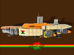 BSL Marcus Garvey: Profile (Keith Goldman) Tags: ship shiptemberv space lego marcusgarvey ghana blackstarline goat