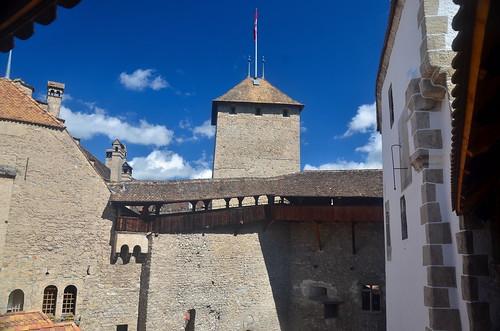 Château de Chillon keep