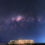 Milky Way at Two Rocks, Western Australia thumbnail