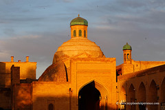 Uzbekistan (My Planet Experience) Tags: bukhara buxoro bazaar bazar takisarrafon takisarrafan dome moneychangers cupola medieval sunset unesco worldheritagesites muslim architecture silk road route central asia oʻzbekiston узбекистан uz uzbekistan ouzbékistan myplanetexperience wwwmyplanetexperiencecom