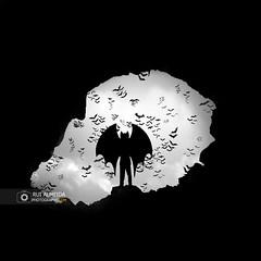 Sometimes it's only madness that makes us what we are (Rui Almeida Photography) Tags: wallpaper background silhouette backlighting contraluz backlight fineart creative shadows romantic loveliness illusion danger winter rain cold portfolio shadow silhoetas blackandwhite bw nb minimalisme elegant poeticimage grayscale minimalist dreamcatcher life lightanddark fine art beauty photography beautyphotography conceptual happyness artwork artistic wallprint frame digital dramatic drama ruialmeida batman bats cave gotham batboy fiction