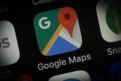 Google Maps ditches automatic calorie estimates after users say it's not helpful and even potentially harmful (wikishoplinepics) Tags: app apple google screen tech technology application coding data design geography iphone icon maps privacy bydgoszcz poland